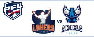 Ćwierćfinał PFL 9 | Olsztyn Lakers - Angels Toruń @ Olsztyn
